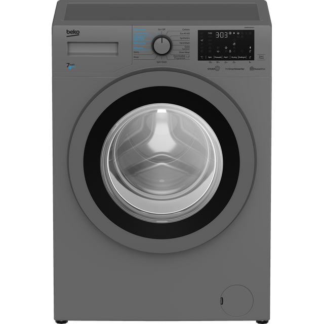 Beko RecycledTub™ WDER7440421S 7Kg / 4Kg Washer Dryer with 1400 rpm - Silver - D Rated